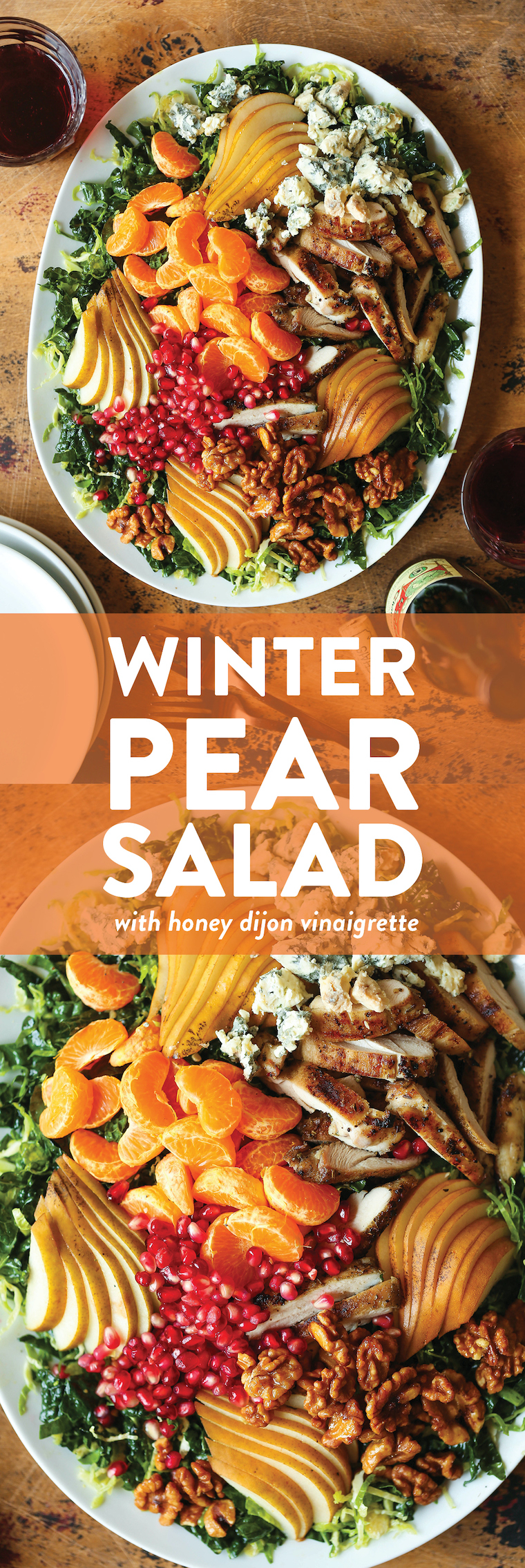 Winter Pear Salad Recipe Damn Delicious