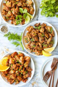 Meal Prep Chicken - 3 Ways