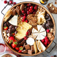 Chocolate and Cheese Board