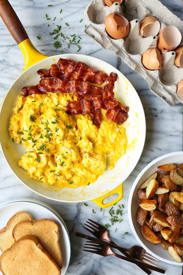 How To Make Scrambled Eggs Damn Delicious