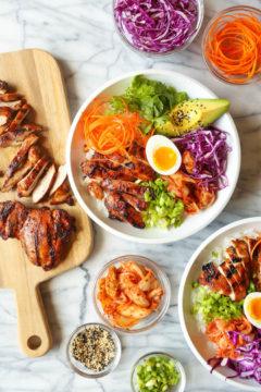 Korean Chicken Bowls