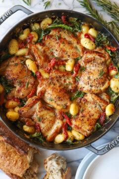 Sun Dried Tomato Chicken and Gnocchi