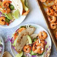 Sheet Pan Shrimp Tacos