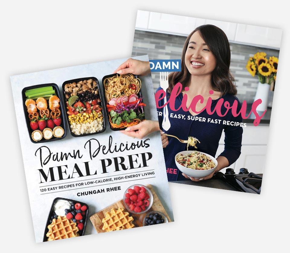 Cookbook cover mockups
